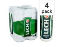 Grocery Delivery London - Lech 4x500ml same day delivery