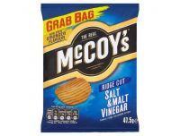 Grocery Delivery London - Mccoys Salt And Vinegar Crisps 47.5g same day delivery