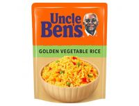 Grocery Delivery London - Uncle Bens Microwave Golden Vegetable Rice 250g same day delivery