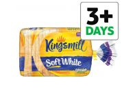 Grocery Delivery London - Kingsmill Soft White Thick Bread 800g same day delivery