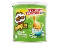 Grocery Delivery London - Pringles Pop And Go Sour Cream & Onion 40g same day delivery