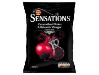 Grocery Delivery London - Sensations Onion And Balsamic Vinegar Crisps 150g same day delivery
