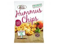 Grocery Delivery London - Eat Real Hummus Chips Tomato And Basil 135g same day delivery