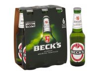 Grocery Delivery London - Beck's 6x275ml same day delivery