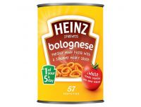 Grocery Delivery London - Heinz Spaghetti Bolognese 400g same day delivery