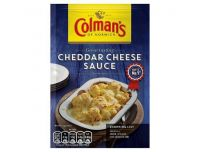 Grocery Delivery London - Colman's Sauce Mix Cheddar Cheese Sauce 40g same day delivery