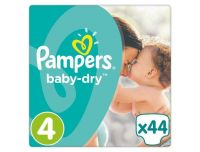 Grocery Delivery London - Pampers Baby Dry Size 4 Pack 44 same day delivery