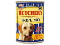 Grocery Delivery London - Butchers tripe mix can 400g same day delivery