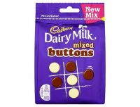 Grocery Delivery London - Cadbury Dairy Milk Buttons Mix 115g same day delivery