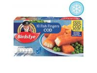 Grocery Delivery London - Birds Eye Cod Fish Fingers 10 Pack 280g same day delivery