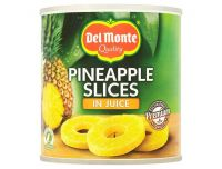 Grocery Delivery London - Del Monte Pineapple Slices In Juice 435g same day delivery