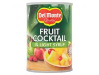 Grocery Delivery London - Del Monte Fruit Cocktail Light Syrup 420g same day delivery
