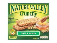 Grocery Delivery London - Nature Valley Crunchy Bars Oat & Honey 210g same day delivery