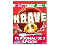 Grocery Delivery London - Kelloggs Krave Cereal 375g same day delivery