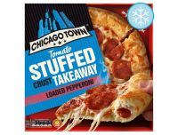 Grocery Delivery London - Chicago Town The Thin One - Double Pepperoni 305g same day delivery