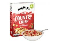 Grocery Delivery London - Jordans Country Crisp Strawberry Cereal 400g same day delivery