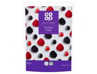 Grocery Delivery London - Co-op Summer Fruits 450g same day delivery