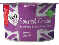 Grocery Delivery London - Yeo Valley Soured Cream 200g same day delivery