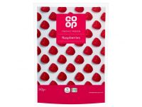 Grocery Delivery London - Co-op Frozen Raspberries 340g same day delivery