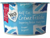 Grocery Delivery London - Yeo Valley Creme Faiche 200g same day delivery