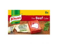 Grocery Delivery London - Knorr Beef Stock Cubes 8 x 10g same day delivery