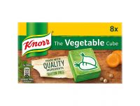 Grocery Delivery London - Knorr Veg Cube Stock Cubes 8 x 10g same day delivery