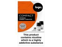 Logic Compact Intense Amber Tobacco 18mg