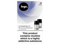 Logic Compact Wild Blueberry 12mg
