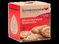 Lovemore Gluten Free Shortbread Biscuits 200g