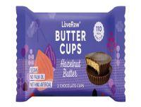 Love Raw Vegan Chocolate Butter Cups Hazelnut Butter 34g