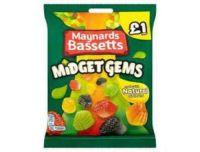 Maynards Midget Gems Sweets Pouch 160g