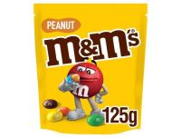 M&M's Peanut Chocolate Pouch 125g