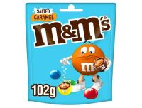 M&M's Salted Caramel Chocolate Pouch 109g