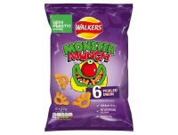 Monster Munch Crisps 6 Pack
