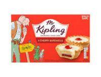 Mr Kipling Cherry Bakewell 6 Pack