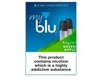 Myblu Liquid Pod Green Apple 9mg