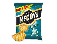 Grocery Delivery London - Mccoys Thai Sweet Chicken Crisps 47.5g same day delivery