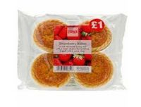Pearl's Strawberry Bakes 4 Pack