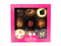 Cambridge 9 Luxury Solid Chocolate Domes Pink Gift Box 160g