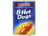 Grocery Delivery London - Princes 8 Hot Dogs 400g same day delivery