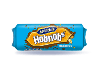 Grocery Delivery London - McVitie's Hobnobs Milk Choc Biscuits 262g same day delivery