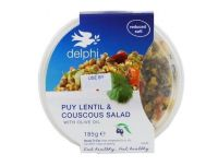 Grocery Delivery London - Delphi Deli Couscous with Chargriled Vegetables 160g same day delivery