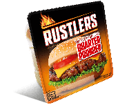 Grocery Delivery London - Rustlers Flame Grilled Quarter Pounder 190g same day delivery