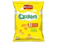 Quaver Cheese Crisps 6 Pack