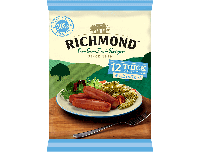 Grocery Delivery London - Richmond 12 Thick Pork Sausages 600g same day delivery