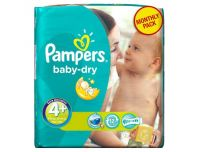 Grocery Delivery London - Pampers Baby-Dry Number 4+ 18pk same day delivery