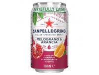 San Pellegrino Pomegranate & Orange 330ml