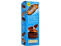 Grocery Delivery London - McVities Hobnobs Thins Milk Chocolate 180g same day delivery