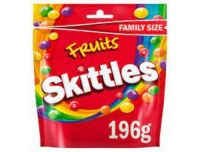 Skittles Fruits Sweets Pouch 196g