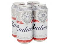 Grocery Delivery London - Budweiser 4x440ml same day delivery